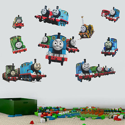 Good Removable Cartoon Kids Room Decor Vinyl Thomas Friends Train Gordon Railway Wall  Sticker DIY Home Decal In Wall Stickers From Home U0026 Garden On ... Nice Look