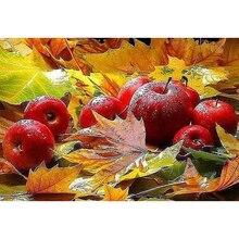 """Полностью сверлильный Квадратный бриллиант 5D DIY Алмазная картина """"Осенний пейзаж"""" Алмазная вышивка крестиком Стразы мозаика картина"""