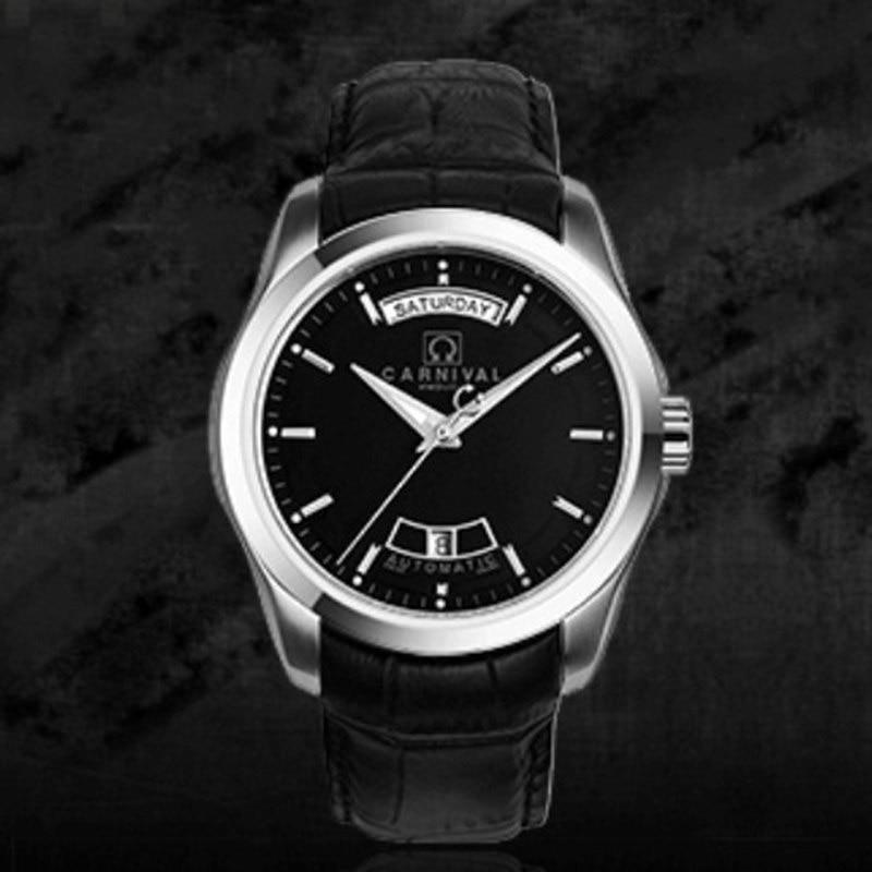 Karnavalo aukščiausios kokybės prekės ženklo automatiniai - Vyriški laikrodžiai - Nuotrauka 3