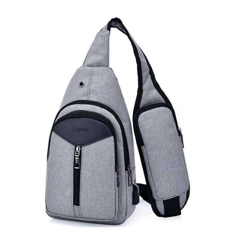 2018 Zipper Solid Selling Bolsas Feminina ,men Polyester Luxury Handbag Pack Designer Messenger Handy Chest Strap Courier Bag