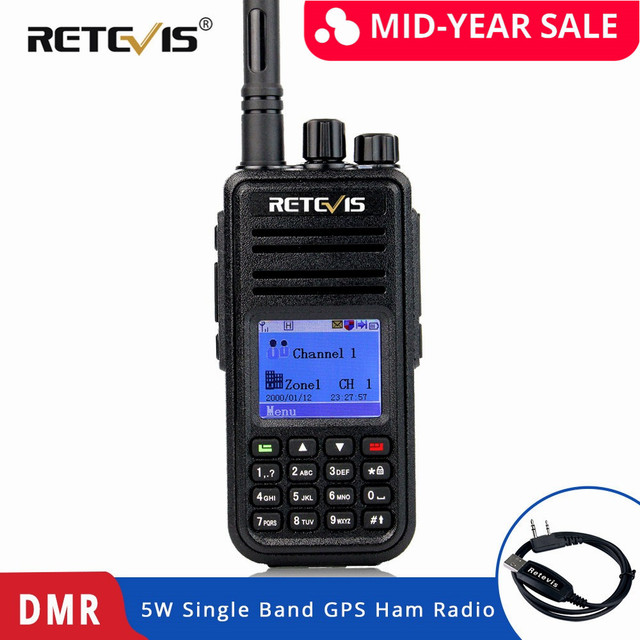 a pair retevis rt46 walkie talkie 2w portable two way radio