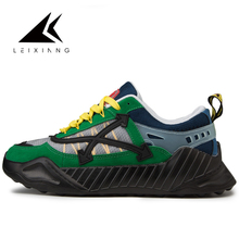 2019 running shoes for men breathable mesh Leixiang man sports sneaker lace-up sneaker for outdoor walking trekking shoes green merrto men walking shoes breathable sneaker lightweight outdoor trekking shoes for men breathable air mensh trekking shoes