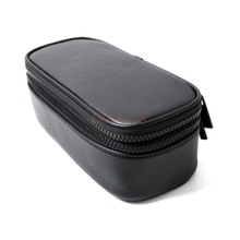 Double layer hand holding cosmetic storage travel large capacity portable simple multi function black cosmetic bag female цена и фото