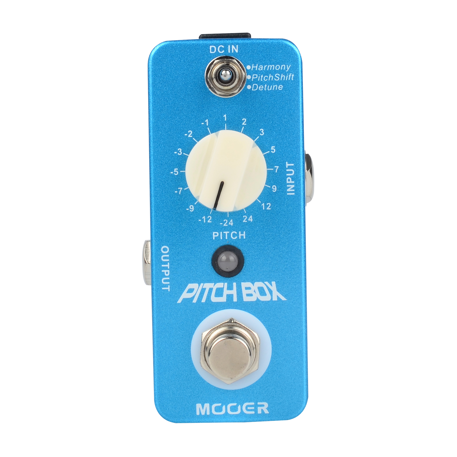 Mooer Pitch Box Guitar Effect Pedal True Bypass Detune Harmony Shift Effect Modes MPS1 mooer skyverb reverb effect pedal true bypass studio church plate modes digital electric guitar effects