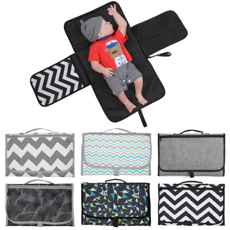 Soft Baby Nappy Bag Diaper Changing Change Travel Cover Pad Foldable Mat