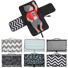Baby Portable Foldable Washable Compact Travel Nappy Diaper Changing Mat Waterproof Floor Change Play Care Pad