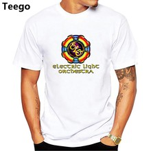 ELO Electric Light Orchestra Rock Music Legend Men's White T-Shirt Size S to 3XL(China)