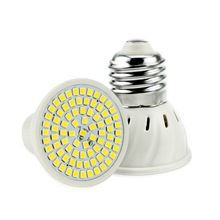 E27 E14 MR16 GU10 Светодиодный точечный светильник лампа светодиодный 2835 SMD LED лампы 60 80 светодиодный s лампа для Спальня Кухня Гостиная белый светильник