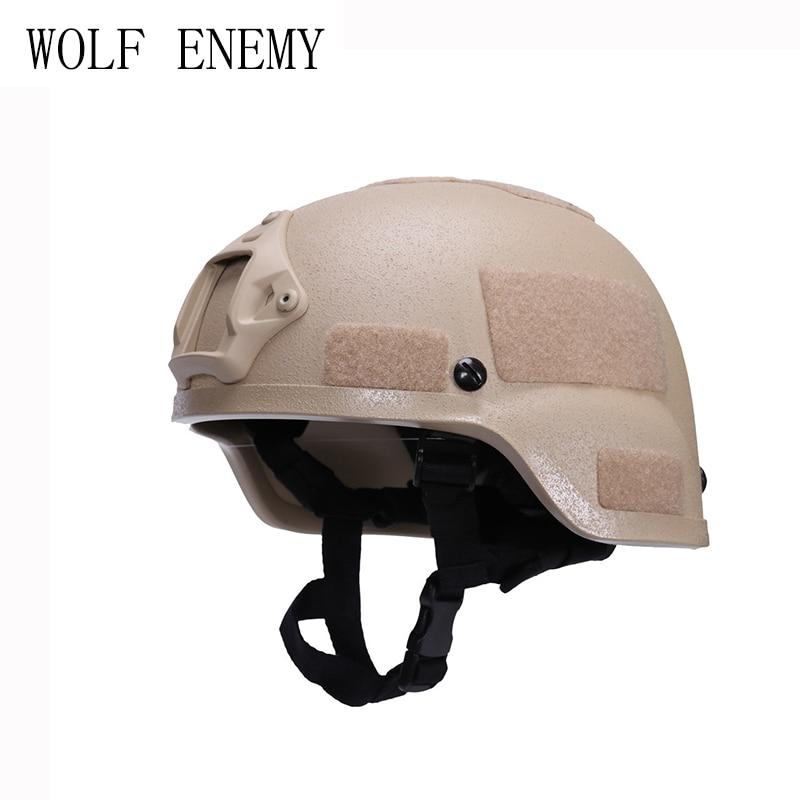 MICH 2000 Tactical with Frame Helmet CS Equitment Helmet Military Combat Helmet