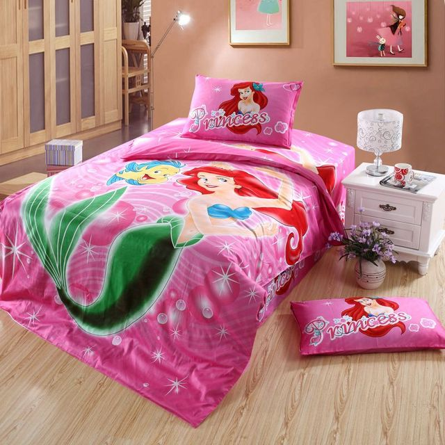 Aliexpress.com : Buy Character Ariel Mermaid Princess ...: https://www.aliexpress.com/store/product/Character-Ariel-Mermaid-Princess-bedding-set-single-twin-size-cotton-bedspread-Girl-s-home-decor-quilt/2474027_32756974802.html