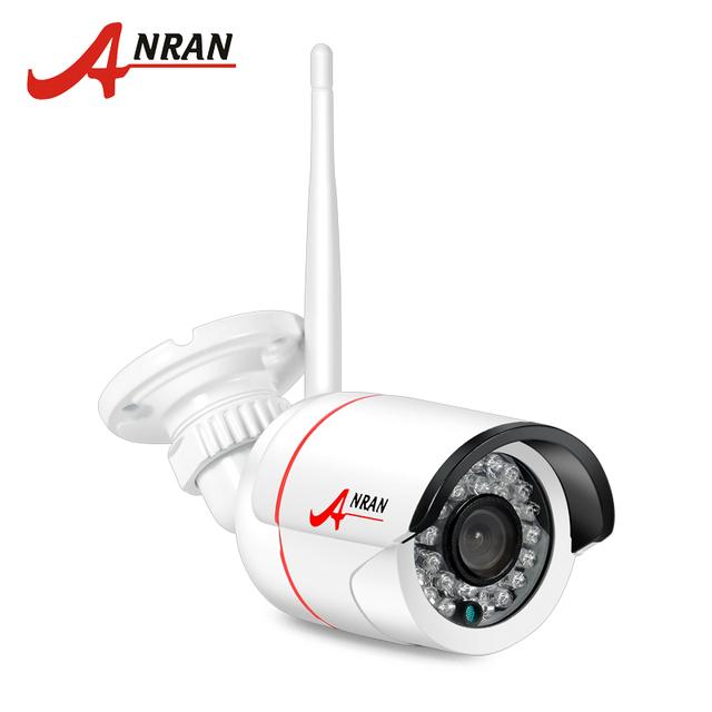 Câmera ip sem fio wifi cctv anran onvif 720 p hd visão nocturna do ir ao ar livre câmera de vigilância de segurança suporte e-mail de alarme