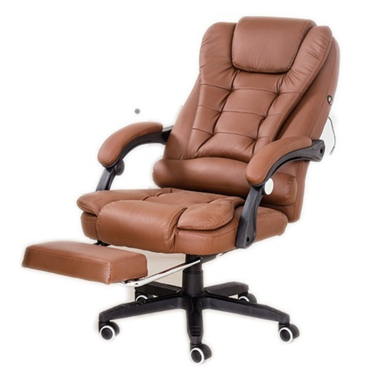 Luxury Quality Live Office Gaming Poltrona Boss Chair Massage Can Lie Footrest Synthetic Leather Household Silla Gamer