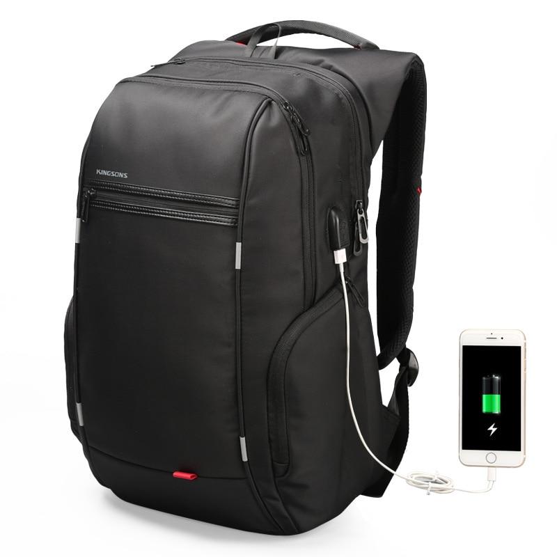 Travel Bag Men Backpack with USB Charging Laptop Bag Super Big back pack for men computer