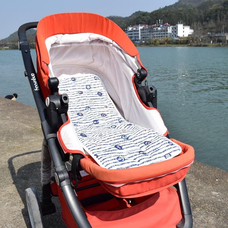 Hot Sale Cotton Baby Yoya Stroller Cushion Seat Pad Infant Print Diaper Changing Mat Unisex Pram Mattress Stroller Accessoriies