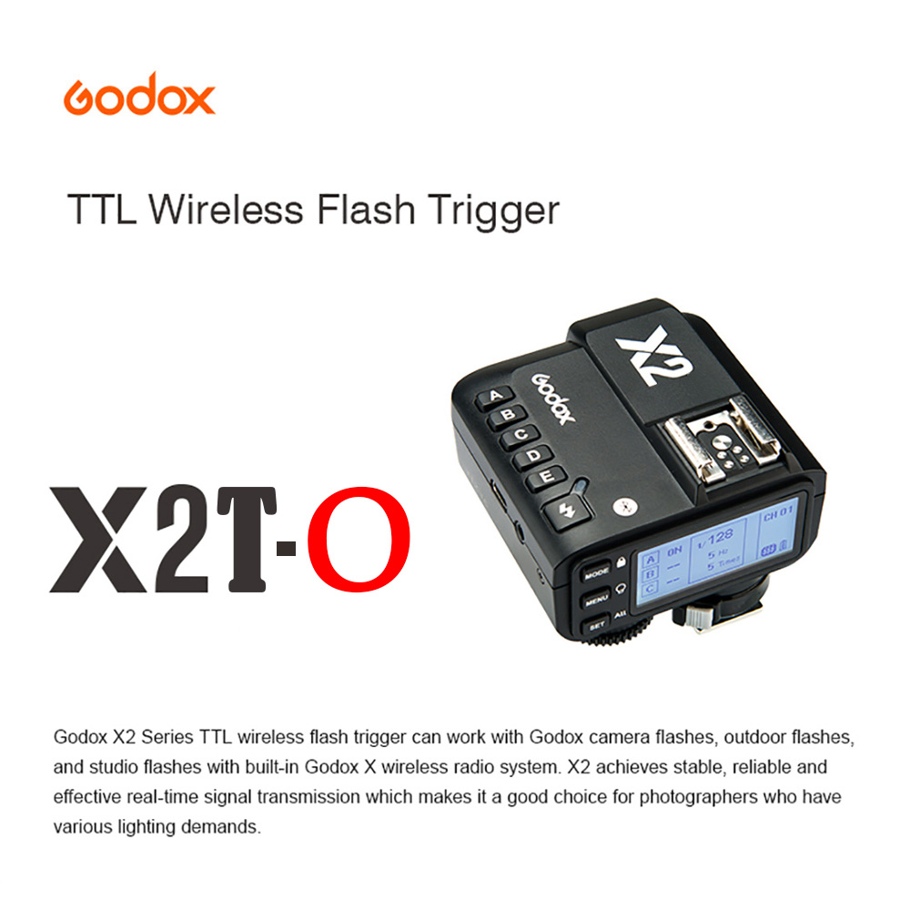 Godox передатчик с Bluetooth, 2,4G, TTL, HSS, для камеры Olympus, Panasonic, Flash, Huawei, xiaomi, iPhone, мобильных телефонов
