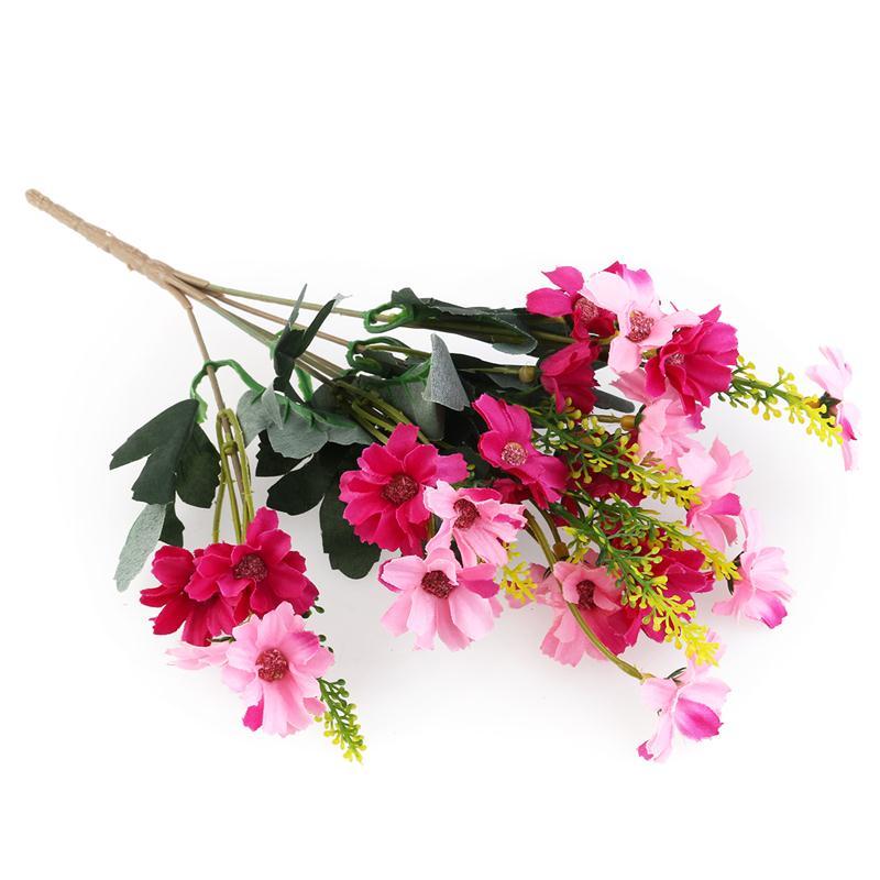 ramo de flor artificial de la margarita ramo para el del escritorio de