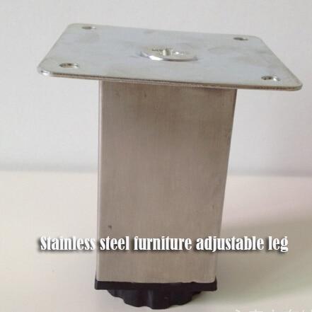 Popular High Quality Stainless Steel Sofa Leg Square Shape