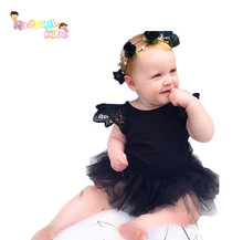 Cute Baby Girl Lace Romper Cotton Ruffle Lace Jumpsuit Infant Clothes Newborn Princess Rompers Infant Clothing Ropa Bebe