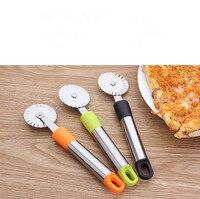 1 ADET yuvarlak pizza kesici Paslanmaz Çelik pizza bıçağı Kesici Pasta Makarna Hamur mutfak Pişirme Araçları KX 263|Pizza Aletleri|Ev ve Bahçe -