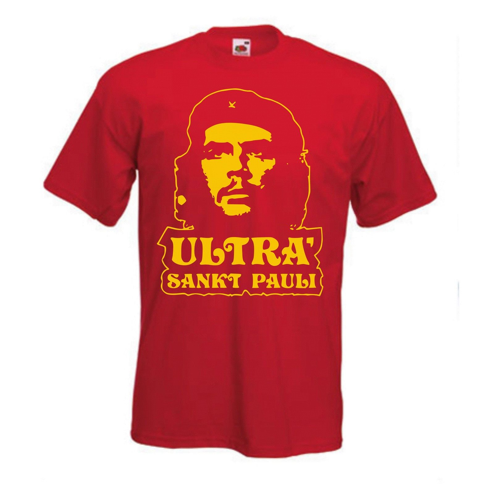 Design t shirt ultras - Aliexpress Com Buy St Pauli Che Guevara T Shirt Ultra Fanshirt Punk Footballerer All Design Men S T Shirts 100 Cotton Short Sleeve Tee From Reliable Che