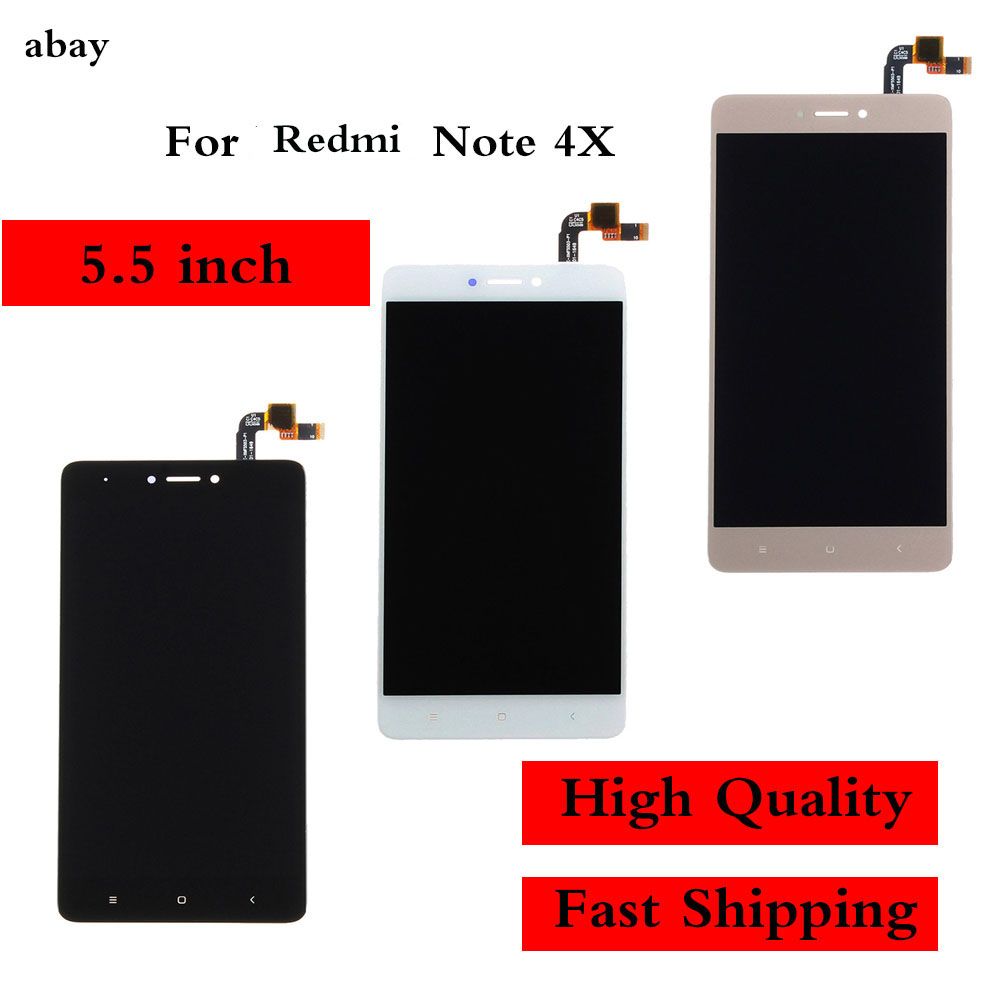 AAA Quality LCD For Xiaomi <font><b>Redmi</b></font> <font><b>Note</b></font> 4X LCD Display <font><b>Screen</b></font> For <font><b>Redmi</b></font> <font><b>Note</b></font> <font><b>4</b></font> Global Version LCD Only For Snapdragon 625 image