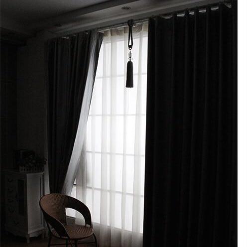 Online Shop Blackout Curtains for Living Room Bedroom Window ...