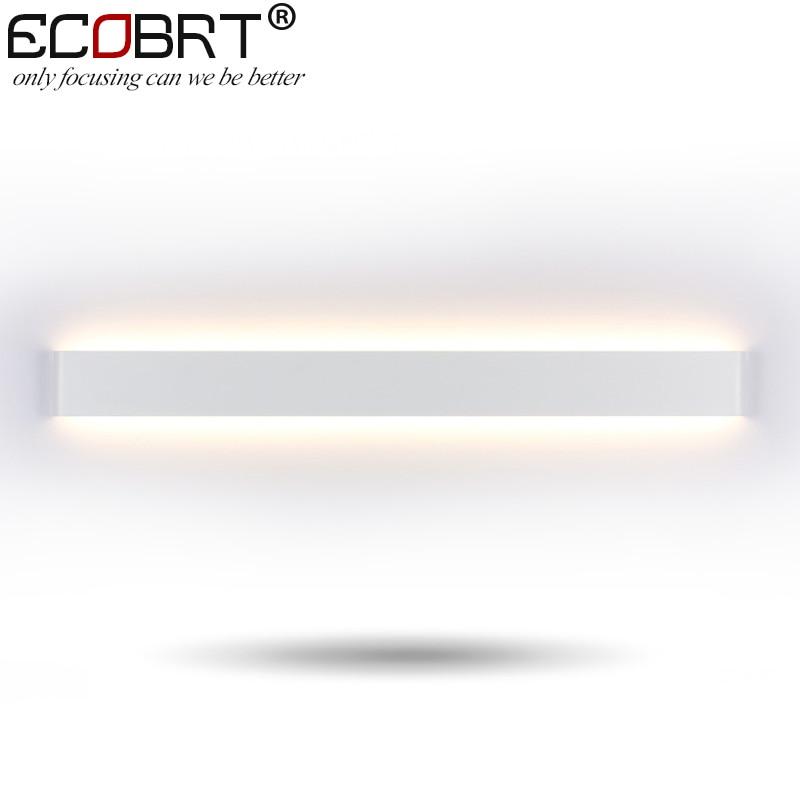 Moderne Style Chambre Mur lampes 30 W 91 cm Long Blanc/Noir Couleur LED Toilettes Salle De Bains Appliques Murales Décoration éclairage 100-240 V