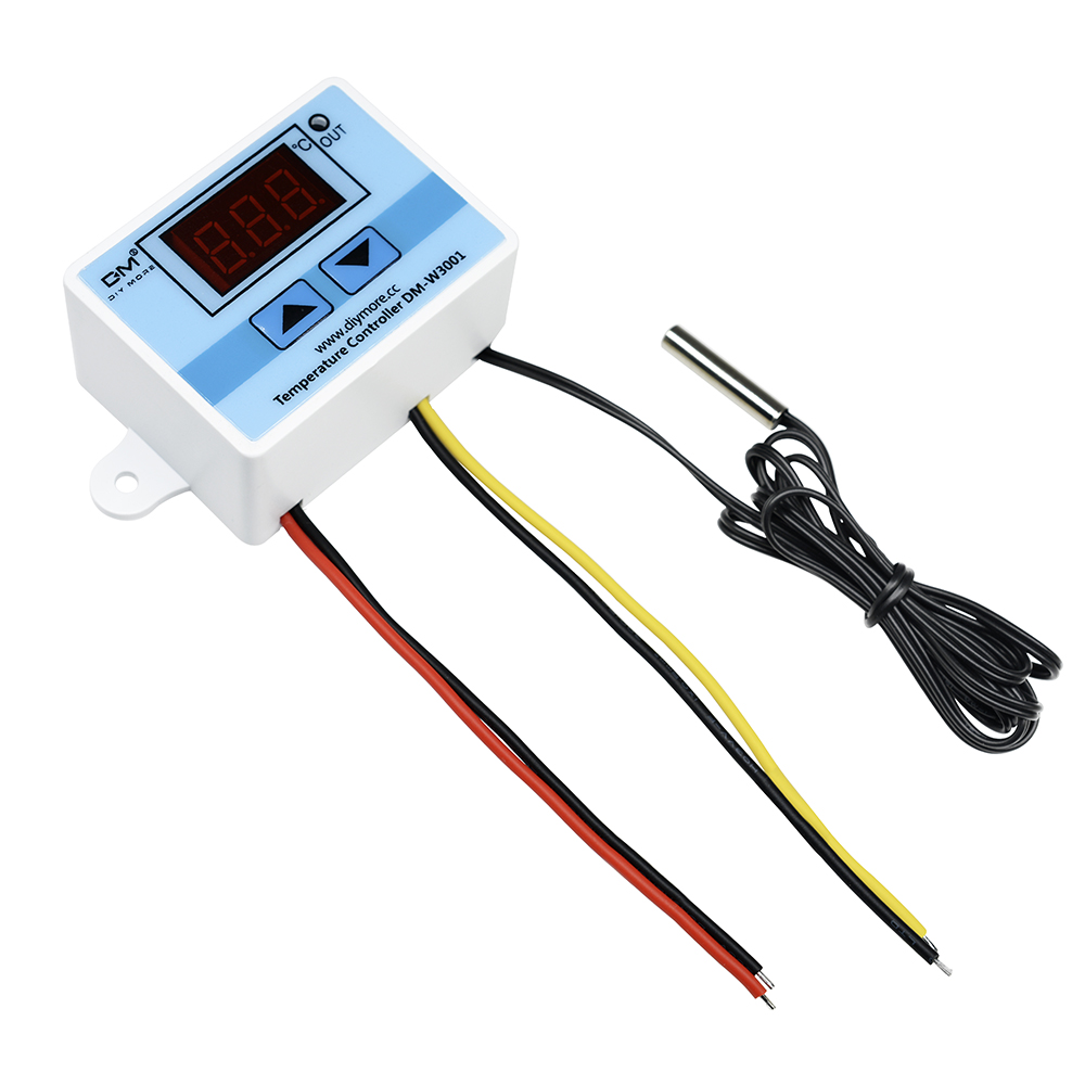 220V 110V 12V 24V LED Digital Thermostat Temperature Controller Thermal Regulator Thermometer Indoor Incubator Thermoregulator