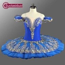 Raymonda Professional Ballet Tutus Blue Princess Florina Classical Pancake Tutu Costumes Adult