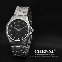 Top Brand Luxury CHENXI Crystal Watches Men Watch Business Dress Quartz Wristwatch Waterproof Male Relogio Masculino