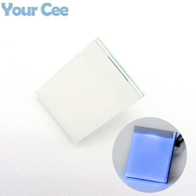 Новый емкостный сенсорный переключатель голубого цвета