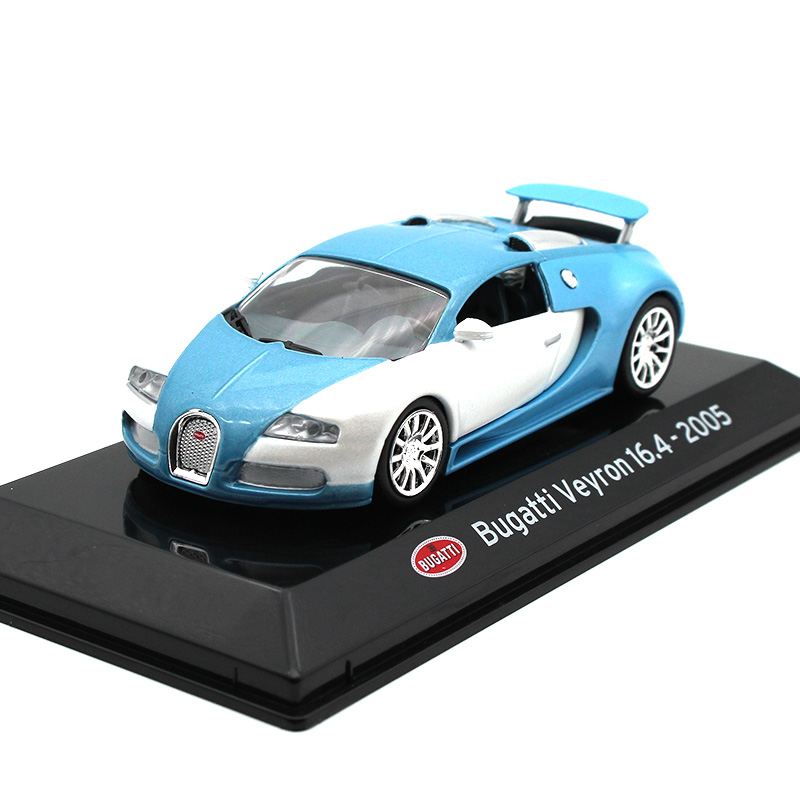 1 43 bugatti veyron 16 4 2005 diecast alloy sports car. Black Bedroom Furniture Sets. Home Design Ideas