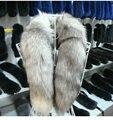 Бесплатная доставка джокер мода теплый лисий хвост шарф лисий мех шарф воротник Haining кожаные поставляет оптовая продажа