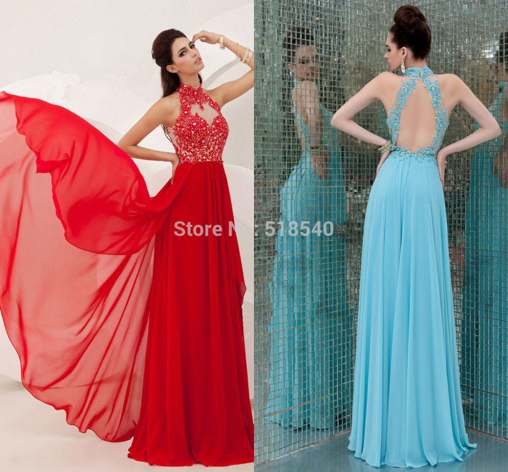 P 16 sx Sexy Halter Prom 2015 Vestidos De Fiesta Lace Beads Off ...