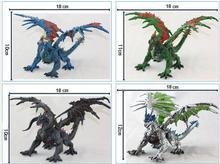 1 stücke DIY tiamat spielzeug drachen mit flügel klassische spielzeug für jungen dinosaurier action-figuren ohne kleinkasten