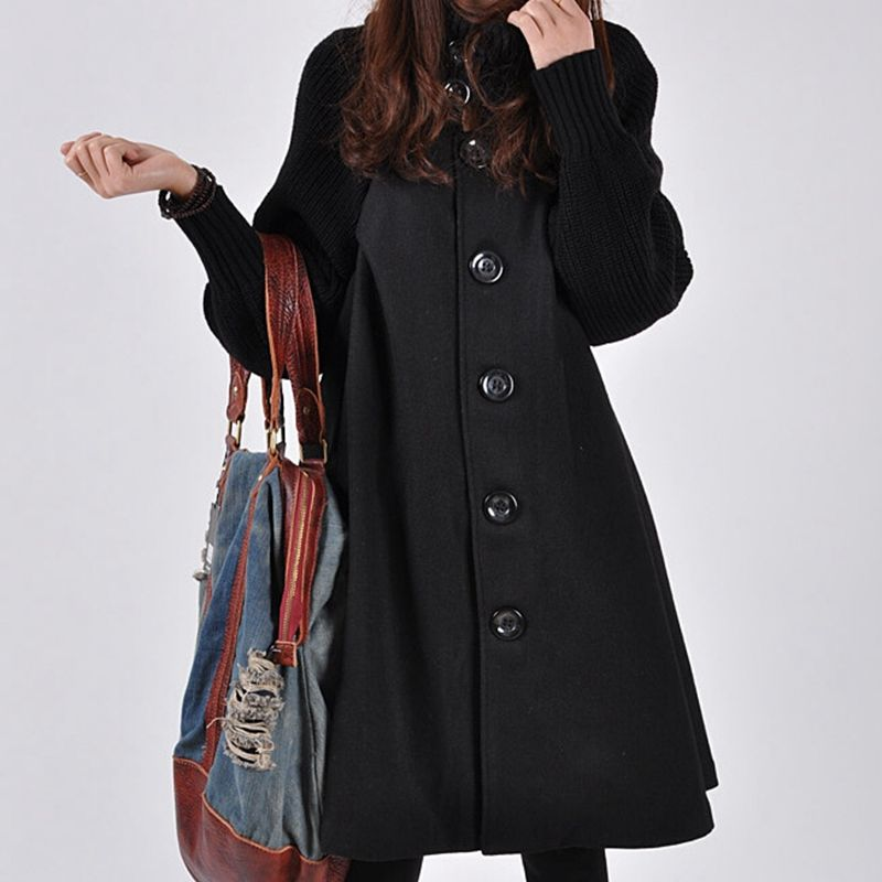 Maternity-Clothes-New-Autumn-Winter-Fashion-Loose-Thicken-Pure-Color-Cloak-Single-breasted-Coats-Clothes-for (1)