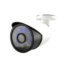 5.0MP HD POE Аудио IP Сетевая Камера 6IR Ночного Видения P2P H.265 Микрофон На Открытом Воздухе Водонепроницаемая камера ВИДЕОНАБЛЮДЕНИЯ Безопасности