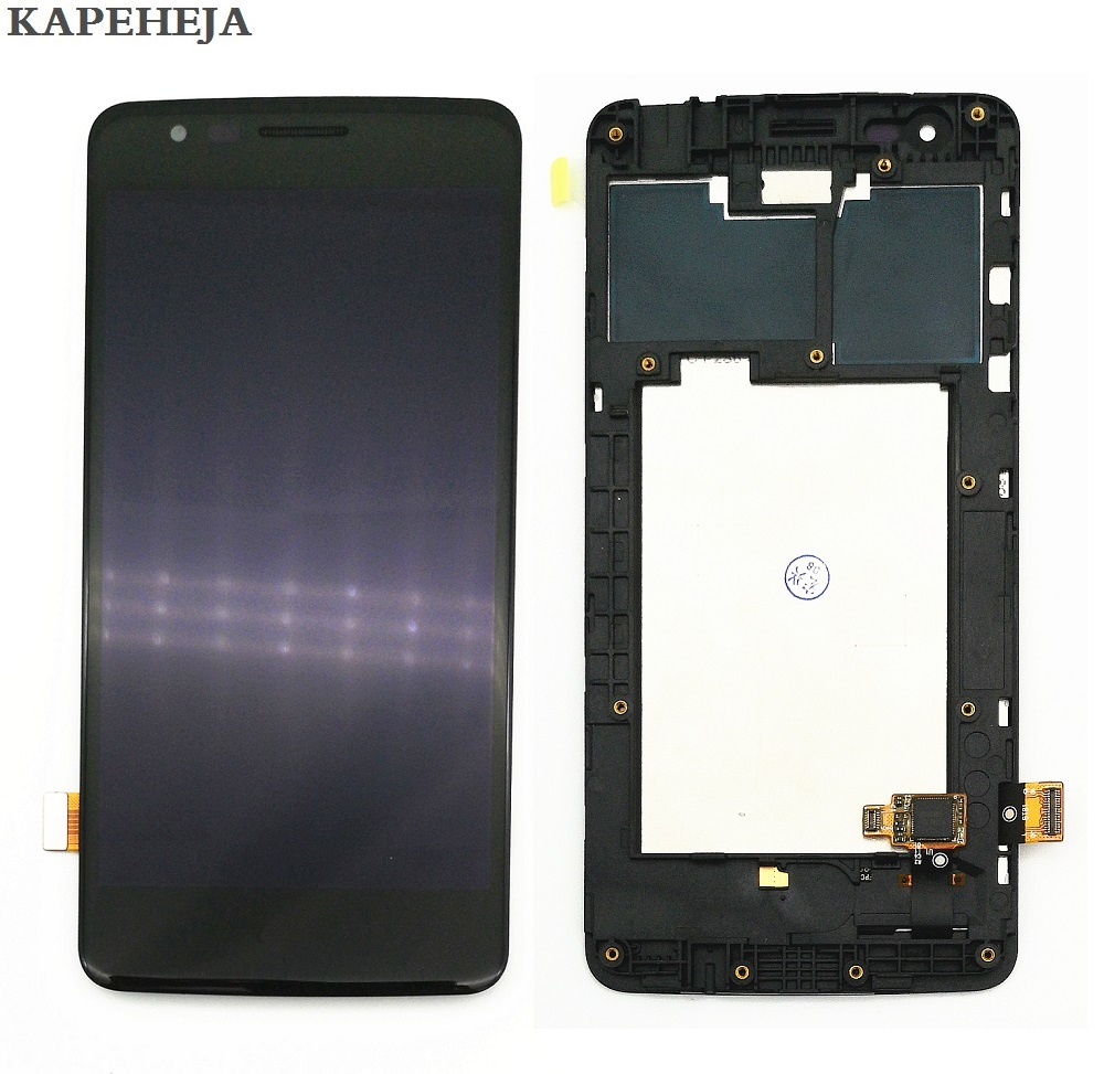 """5.0""""For LG K8 2017 X240 X240H X240K LCD Display Touch Screen Digitizer Assembly with Bezel Frame"""
