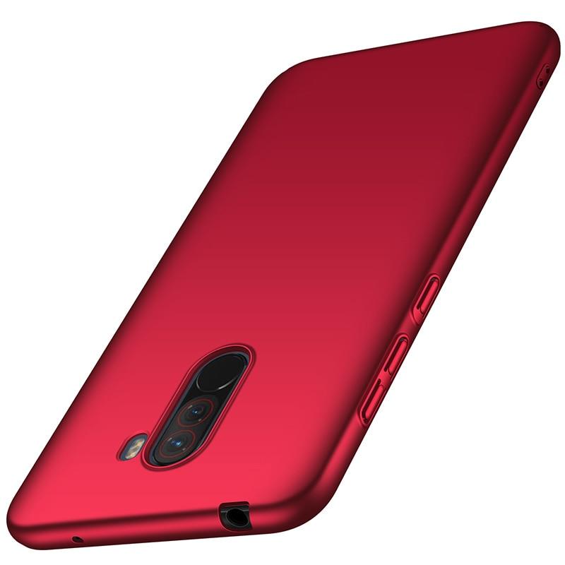 For-Xiaomi-Pocophone-F1-Case-Hard-Matte-Back-Cover-Pocofone-Poco-F1-Slim-Shockproof-Skin-Single (10)