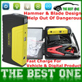 Mini Portable Battery Charger Car Jump Starter 16000mah Emergency Start 12V Petrol&Diesel Engine Multi-Function Car Power Bank