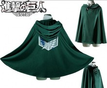 Adult Women Men Colors Anime Attack on Titan Unisex Cosplay Costume Green Black Hoodie Scouting Legion Hooded Jacket Hoodies