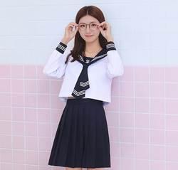 Japones Корея школьная форма japaneses карнавал volwassen костюмы uniforme Матросская юбка манга seifuku japones девушка