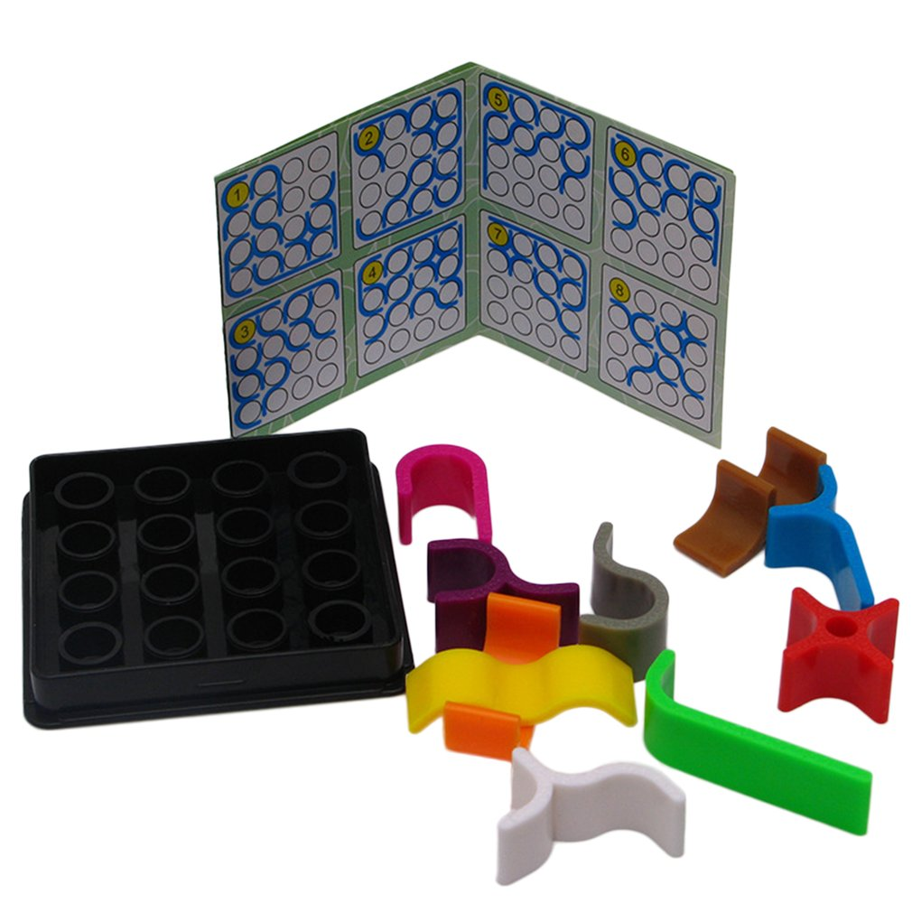 Crazy Curves Children Early Education Develop Puzzle Board Kids Engineering Games Logic Robot Electricity For Educational Intelligence Brain Teaser Game Funny Toys In Puzzles From Hobbies