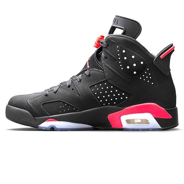 "low priced 36df7 54860 ... Original New Arrival Authentic NIKE Air Jordan 6 Retro ""UNC"" Men  Basketball Shoes Sneakers ..."