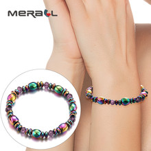 Fashion Magnetic Slimming Bracelet Colorful Woman Weight Los