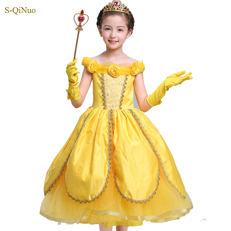 kids dresses for baby girls pageant dresses angel Princess Fancy kids clothes For Party Costume 3 8 9 10 years girl dress new cinderella princess girl dress kids christmas dresses costume for girls party crown necklace fantasia dress kids clothes
