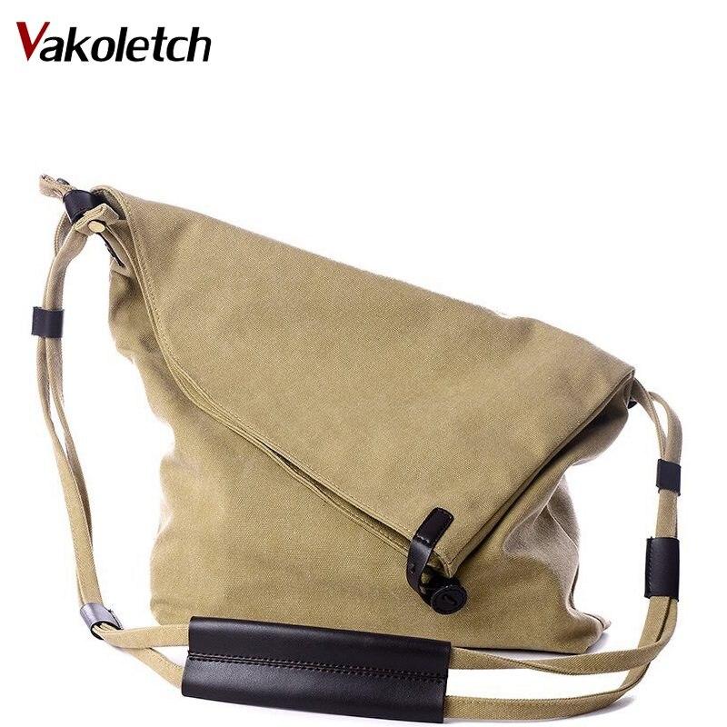 Crossbody-Bags Handbags Vintage-Shoulder-Bag Canvas Bucket-Designer Small Women Ladies