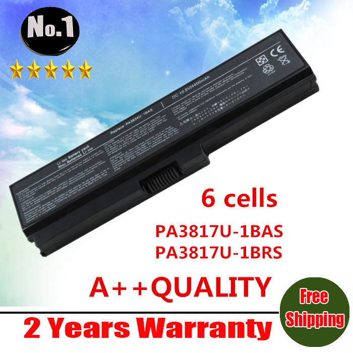 New 6 cells Laptop Battery For Toshiba Satellite L700 L730 L750 C600D A600 A655 series PA3817U-1BAS PA3817U-1BRS