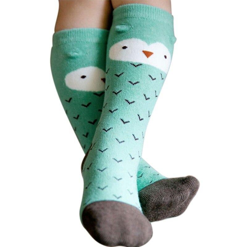 Baby Boys Girls Spring Cartoon Print Socks KidsSock Lovely Cute Cotton Sock For Children