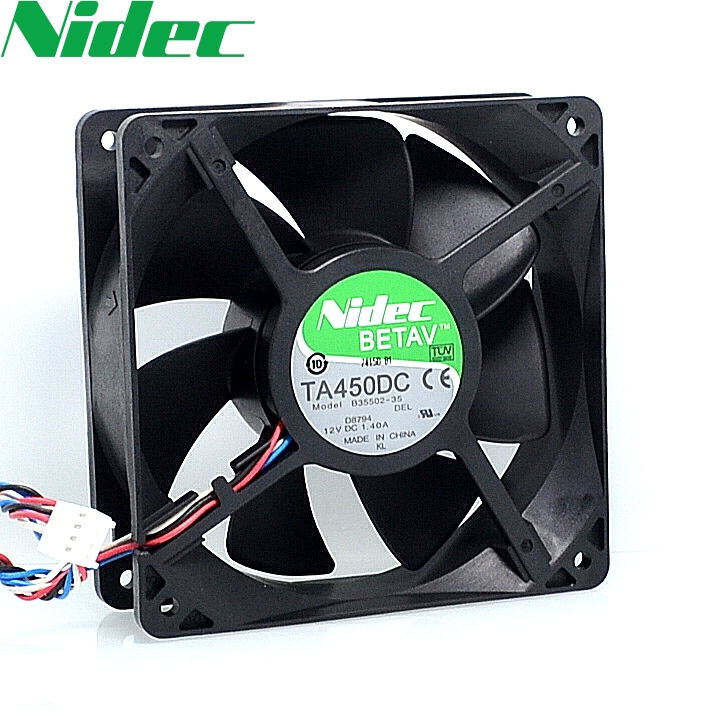 120*120*38 TA450DC B35502-35 12CM 1.40A 1T Dragon ore miner original radiator fan for NIDEC